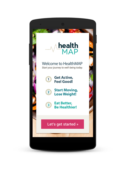 HealthMAP application